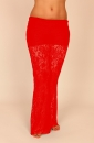 Hipnotic Pants Stretch Lace rot